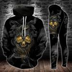 Smoke Skull TCCL051119 Legging And Hoodie Ultra Soft and Warm
