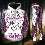 Deer Country Girl Love TCCL051103 Legging And Hoodie Ultra Soft and Warm