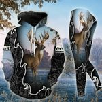 Deer Hunting TCCL051106 Legging And Hoodie Ultra Soft and Warm
