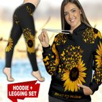 Butterfly Sunflower TC121116HD Legging And Hoodie Ultra Soft and Warm