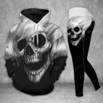 Smoke Skull TCCL051118 Legging And Hoodie Ultra Soft and Warm