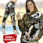 Cows TC111119HD Legging And Hoodie Ultra Soft and Warm