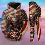 Eagle Veteran TCCL051110 Legging And Hoodie Ultra Soft and Warm