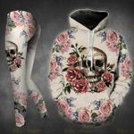 Flower Skull TCCL041125 Legging And Hoodie Ultra Soft and Warm