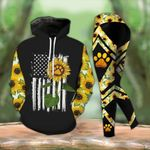 Sunflower Paws TCCL051120 Legging And Hoodie Ultra Soft and Warm