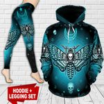 Skull TCCL041142 Legging And Hoodie Ultra Soft and Warm