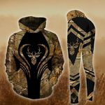 Deer Hunting TCCL041118 Legging And Hoodie Ultra Soft and Warm