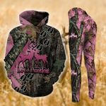 Deer Hunting TCCL041121 Legging And Hoodie Ultra Soft and Warm