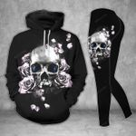Flower Skull TCCL041128 Legging And Hoodie Ultra Soft and Warm