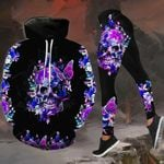Butterfly Skull TCCL041103 Legging And Hoodie Ultra Soft and Warm