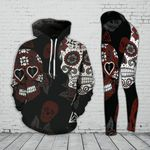 Skull TCCL041141 Legging And Hoodie Ultra Soft and Warm