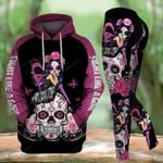 Skull Warrior TCCL041144 Legging And Hoodie Ultra Soft and Warm