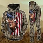 Deer Hunting TCCL041117 Legging And Hoodie Ultra Soft and Warm