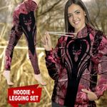 Deer Hunting Country Girl TC021109CT Legging And Hoodie Ultra Soft and Warm