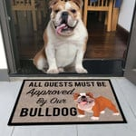 Aguests Must Be Approved By Our Bulldog Doormat DHC04061206