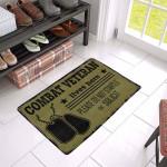 Combat Veteran Doormat DHC04061254