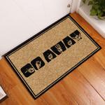 Go Away Asl Doormat DHC0406444