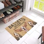 Basset Hound Welcome Doormat DHC04061411