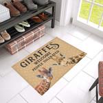 Giraffe Welcome Doormat DHC04061434