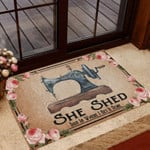 This Is Where I Get It Done Sewing Lovers Personalized Doormat DHC04061309