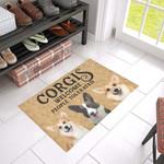 Corgis Welcome Doormat DHC04061431