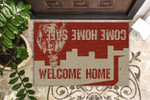 Firefighter Welcome Home Customized Doormat DHC0406243