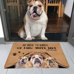 No Need To Knock Bulldog Doormat DHC04061204