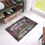 Dachshund Crazy Doormat DHC04061472