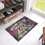 Heeler Crazy Doormat DHC04061471