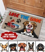 Lost The Shoe Personalized Dog Doormat DHC04061265