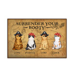 Purrate Personalized Doormat DHC04061292