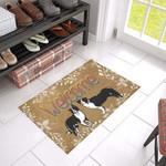 Border Collie Welcome Doormat DHC04061476