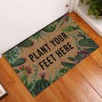 Plant Your Feet Succulent Doormat DHC0406435