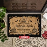 Theyre Creepy Theyre Kooky Personalized Doormat DHC0406101
