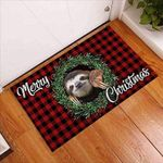 Merry Christmas Personalized Doormat DHC07061376