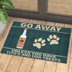 Dog Footprint Rug Personalized Doormat DHC07061054