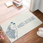 Wolf Pattern Welcome Doormat DHC07062316