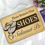 Please Remove Your Shoes Doormat DHC07062178