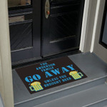 Go Away Personalized Doormat DHC07061351