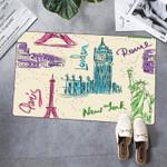 Landmarks Personalized Doormat DHC07061558