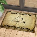 Come Back When You Understand Doormat DHC070616
