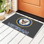 Us Navy Veteran Personalized Doormat DHC07061390