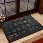 Cool Personalized Doormat DHC07061357
