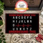Come Back Personalized Doormat DHC07061323