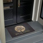 Yoga Gold Tree Personalized Doormat DHC07061374