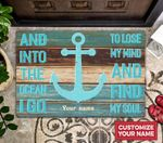 Into The Ocean Personalized Doormat DHC07061437