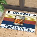 Go Away Personalized Doormat DHC07061259