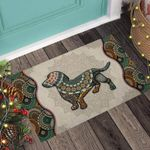 Dachshund Dog Personalized Doormat DHC07061047
