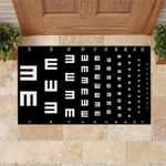 Personalized Eye Chart Doormat DHC07061139