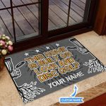 Personalized Built On Love Doormat DHC07061137
